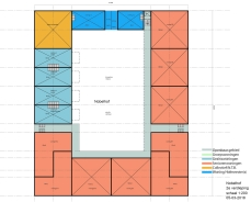 Nobelhof bouwtekening 2e verdieping